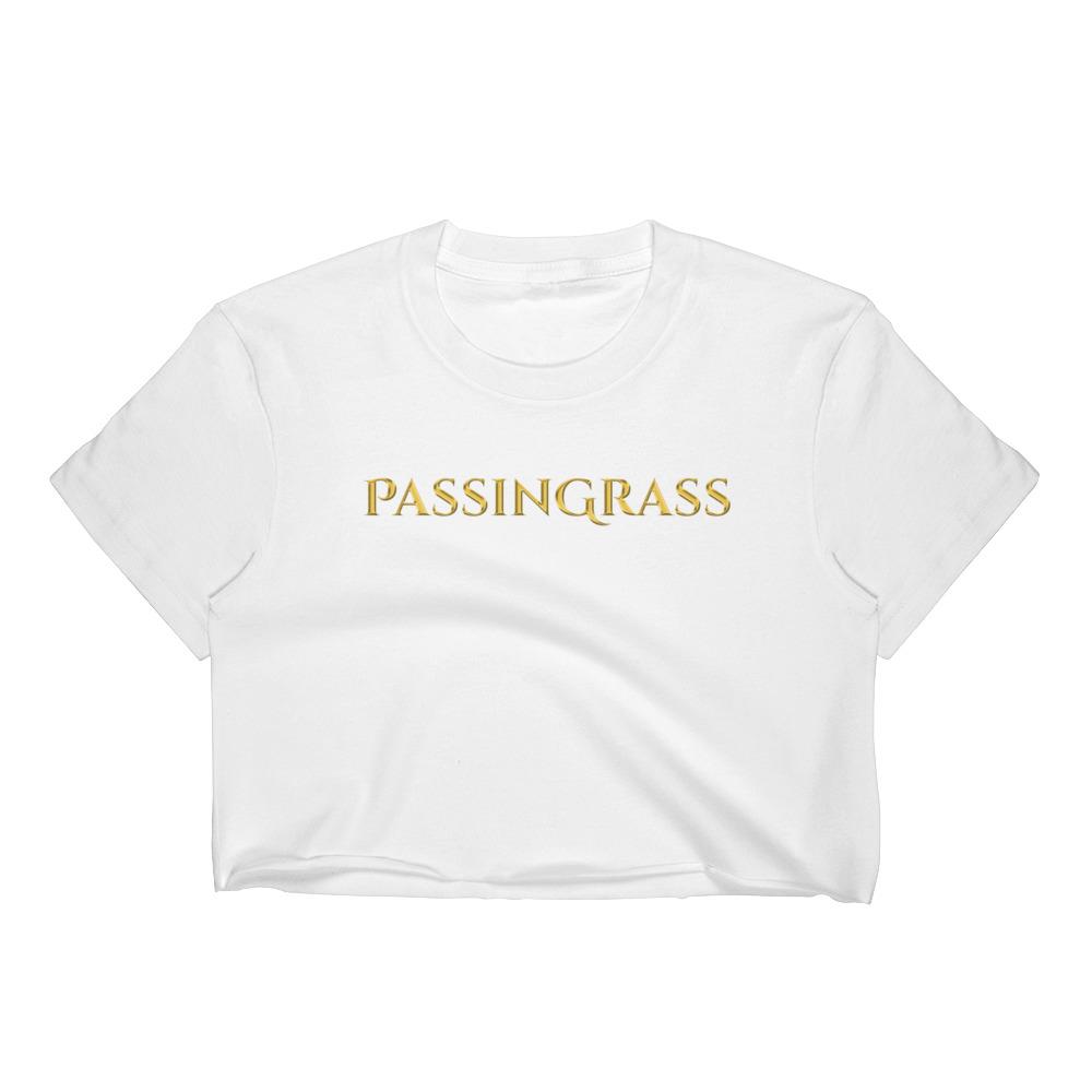 PassinGrass Luxury Women's Crop Top