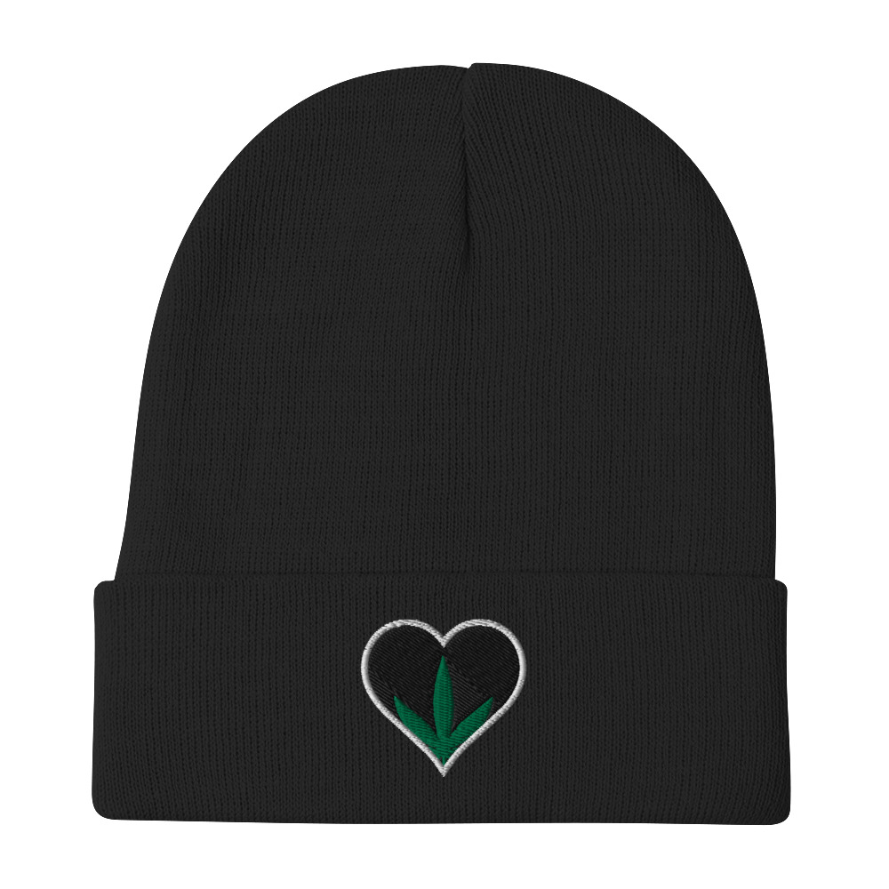 PassinGrass Embroidered Beanie